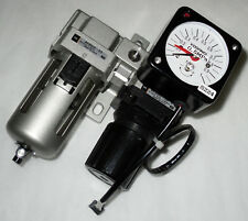 Smc Ar3000-03 Af3000 Pressure Regulator Filter Gauge Manifold Assembly
