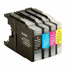 LC-1240 NonOem Ink Set Replacement for Brother VALBP LC1240 - Premium Quality
