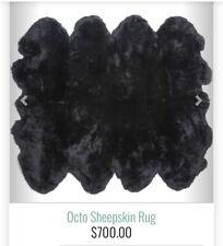 sheepskin rug genuine