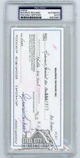 Maurice Richards Autographed Check - PSA/DNA