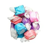 BERRIES & CREME Salt Water Candy Taffy  - TAFFY TOWN - 16 OZ  BAG - SHIPS FREE