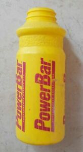 Bicycle water bottle POWERBAR Yellow cycle road bike team cycling without hood