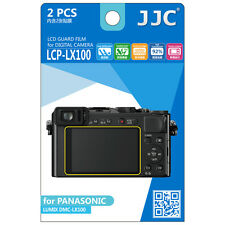 JJC Lcp-lx100 LCD Film Camera Screen Display Protector for Panasonic Dmc-lx100