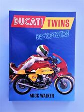 DUCATI BEVEL/BELT/PARALLELTWINS 350/500/RESTORATION-BOOK / 240 PAGES