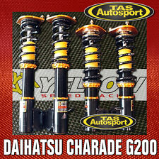 YELLOW-SPEED COILOVERS SUSPENSION DAIHATSU CHARADE G200 96-00 yellowspeed