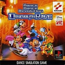 USED PS1 PS PlayStation 1 Dance dance Revolution Disney'SRave 69747 JAPAN IMPORT