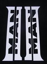 4 pcs MAN TGA TGX Unique Stainless Steel Door Metal Decorations Chrome Metal