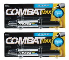 2~ New!! Combat Max ANT Killer Syringe 0.95 oz Gel Formula Kills Nest Fast 97306