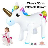 Inflatable Unicorn My Little Pony Girls Boys Party Fun Unicorn Gift Toy  X99 374