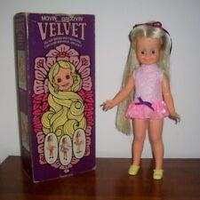 Velvet Doll by Ideal 1971-Original Box + Handmade Clothing - Hair That Grows!