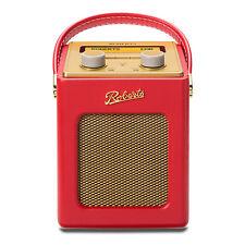 Roberts Revival Mini Red Portable DAB FM RDS Digital Radio Retro