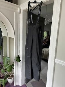 SCHOFFEL Venturi Black Ski Trousers Project 3000 Pants GB 34R Worn Once