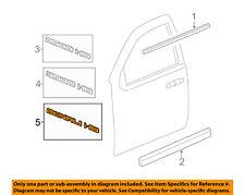 GM OEM Front Door-Emblem Badge Nameplate 25779765