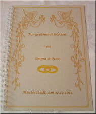 Goldene Hochzeit Festzeitung Goldhochzeit Geschenk 50. Hochzeitstag # Phoenix