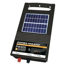Power Wizard PW50S Solar Fence Energizer / 3 year manufacturer warranty