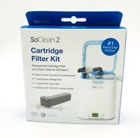 BRAND NEW SoClean 2 Cartridge Filter Kit With Super High Quality Check Valve