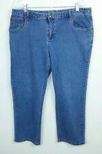 CJ Banks Women's 18W Petite Jeans Classic Fit Medium Blue Denim Cotton Spandex