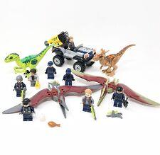 Lego Jurassic World Dinosaurs Minifigures Sets 75926 75927 10756 10757 Parts