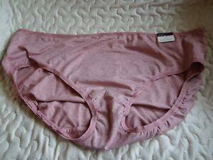 NWT - Cacique - Hipster Panties - 26 / 28 - Mauve HEathered