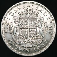 1937 | George VI Proof Crown | Silver | Coins | KM Coins