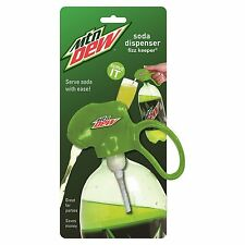 Jokari Mountain Dew Soda Dispenser & Fizz Keeper - for 2 liter Pop Bottles