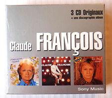 Claude Francois ~ 3 CD Box Set ~ NEW ~ Le Mal Chanson Self ~ French Music Singer