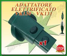 ADATTATORE ELETTRIFICATO DA FOLLETTO VK 120-121-122 A VK 130-131-135-136-140 150