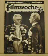 """[K4-18]SEMAINE DU FILM NR 7/1935 EMIL JANNINGS """"L'ANCIEN ET LE NOUVEAU ROI"""""""