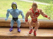 Vintage 1980?s MOTU He-Man & Skeletor Figures