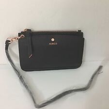 Mimco MICRA PASSPORT Lanyard HOLDER  Wallet Bag Brand New with Tags Black