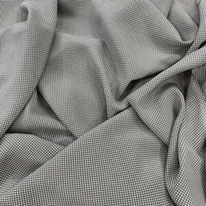 Silk designer fabric yards french fashion dress blouse printed France