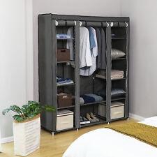 Faltschrank Stoffschrank Kleiderschrank Garderoben Regal 150x175x 45 cm LSF03G
