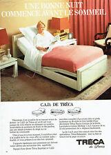 Publicité Advertising 068  1981   Tréca   lit relaxation   C.A.D