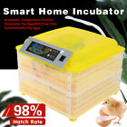 112 Egg Incubator Eggs Fully Digital Automatic Hatcher for Hatching Chicken NEW