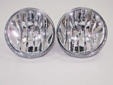 FOG LIGHTS LAMPS PAIR & NEW BULBS 2007-2013 GMC Sierra 1500 & Sierra Denali 1500