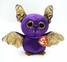 "6/"" Ty Beanie Boos Count the Purple Halloween Bat"