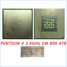 Intel Pentium 4 3.4 GHz 1M 800 MHz SL7PP/SL7E6 Prozessor Socket 478 Upgrade CPU