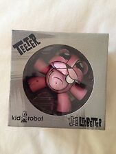 """Kidrobot Teeter Pink 6"""" New In Box 6 Inch Toy Collectable By Joe Ledbetter Nyc"""