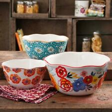 The Pioneer Woman Flea Market 3-Piece Nesting Bowl Set