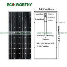2*160W 300 Watt Pv Mono Solar Panel 12V for Off Grid Boat Battery Charger Home