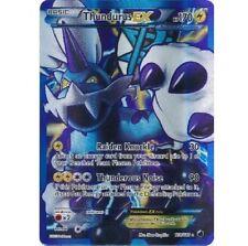 THUNDURUS 110/116 FULL ART! Ultra Rare Pokemon Holo Card! Plasma Freeze!