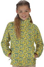 Regatta Printed overchill childs girls waterproof peached floral jacket