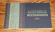 1932 Chevrolet Genuine Accessories Sales Brochure 32 Chevy