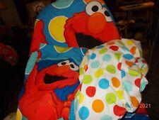 Sesame Street Elmo Toddler Bedding Set Blanket Fitted Sheet Pillowcase
