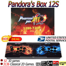 New 3D Pandora Box HDMI Video 3188 Games in 1 Home Arcade Console Game 2 Players