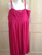 "L K Bennett Brand New ""Dita"" Dress In Pink Size 16 UK"