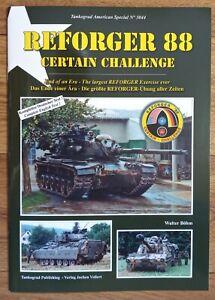 Tankograd American Special 3044: REFORGER 88 Certain Challenge, Softback book
