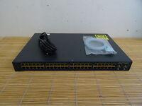 Cisco Catalyst WS-C3560V2-48TS-E L3 Switch EMI IOS