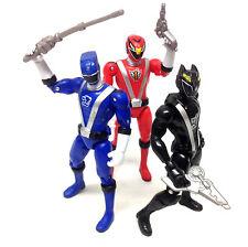 """Power Rangers Rpm Juguetes Lote de 5"""" Figuras De Acción Conjunto de 3 con armas"""