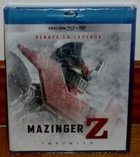 MAZINGER Z INFINITY RENACE LA LEYENDA BLU-RAY+DVD NUEVO ANIMACION (SIN ABRIR) R2
